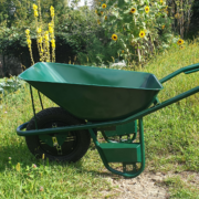 Intuitive elektric wheelbarrow