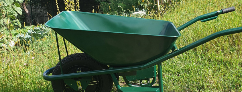Intuitive elektric wheelbarrow
